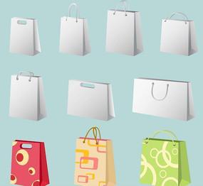 购物袋空白效果图模板