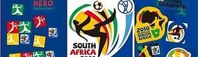 2010南非足球世界杯宣传单及标志
