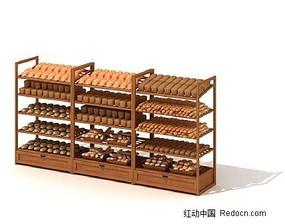 商场货柜3D模型