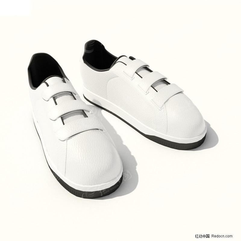 3D精美休闲鞋模型图片