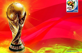 南非世界杯海报模板