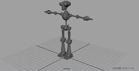 maya机器人建模 无材质贴图
