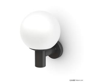 精致球形壁灯3D模型