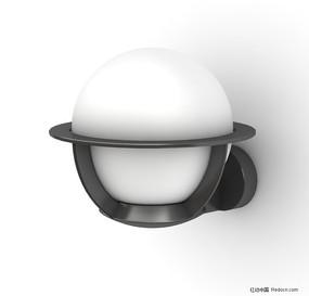 时尚精美球形壁灯3D模型