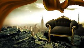 王者之尊地产海报