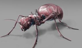 机械蚂蚁模型