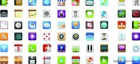 iCandies精美手机图标矢量素材