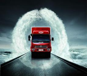 东风卡车创意海报