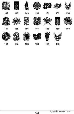 中國傳統圖案矢量素材大全7 (3)