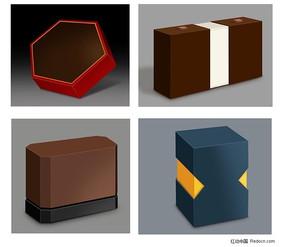礼盒效果图模板