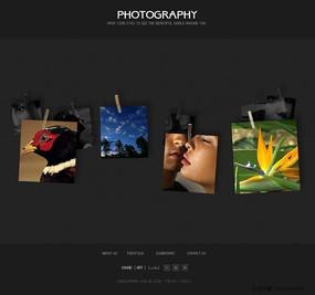 个性相册网页设计模板