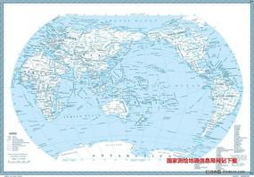世界地图-4k