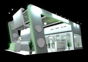 展覽展臺展柜展示空間豪華體驗中心