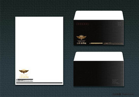 VI系统信纸信封设计