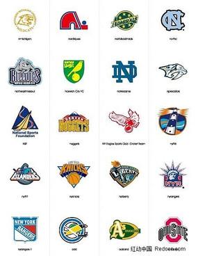 各种体育运动标志LoGO