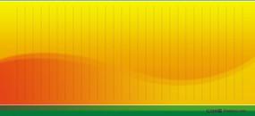 黄色渐变展板底图