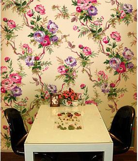 墙绘花朵素材