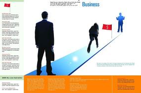 商务宣传画册排版 PSD