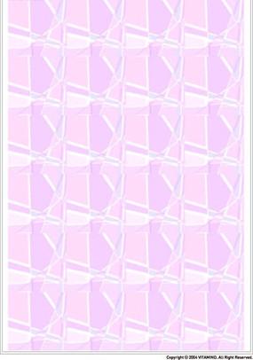 粉色調幾何四方連續圖案