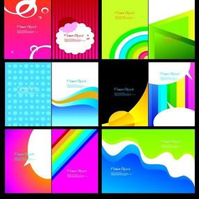 简洁色彩的画册封面设计欣赏