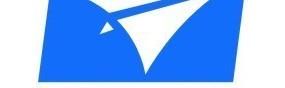 矢量藍色飛機圖形logo創意欣賞