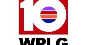 WPLG红底10矢量标志