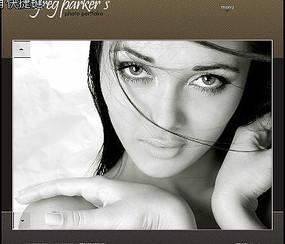 格雷格派克相册集网页模板