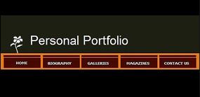个人作品集网页模板