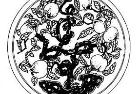 中國傳統吉祥圖案-壽桃