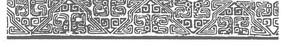 中式風格花邊矢量圖