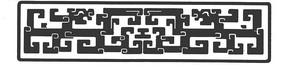 中国古典图案-回纹龙纹构成的图案
