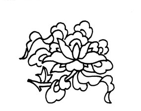 傳統吉祥圖案八吉祥(八寶)中的蓮花