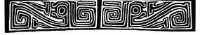 中国古典图案-抽象龙纹和回纹构成的图案
