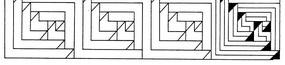 古典矢量幾何圖案素材