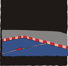 游泳池插画