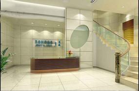 简约时尚风格门厅装饰效果图模板素材