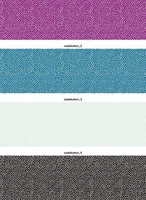 纯色背景上的白色点阵背景EPS矢量文件
