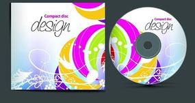 多彩光盘封面设计