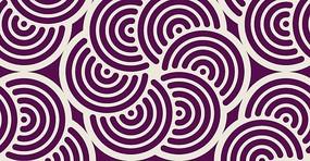 层叠的紫色圆形图案