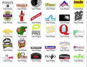 各种各样的公司标志