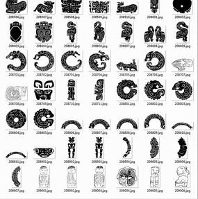 動物裝飾圖案