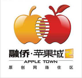 房地产标志-融桥苹果城