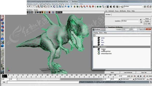 逼真3D恐龙图片