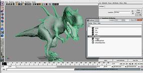 逼真3D恐龙