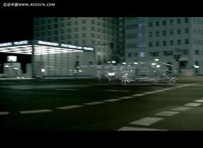 城市特效汽车广告视频