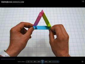 双手折纸视频