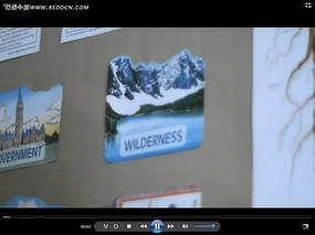 国外风景贴纸视频