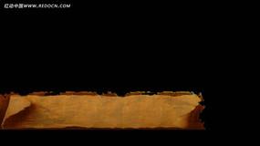 复古纸张背景视频