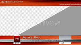 国外新闻视频模板