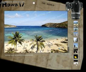 单反相机相册FLASH图片轮播设计